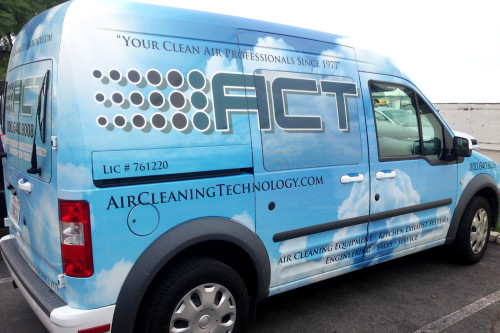 ACT Sales truck